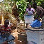 Le PNUD accompagne la CENI pour le ramassage et l'inventaire des matériels électoraux