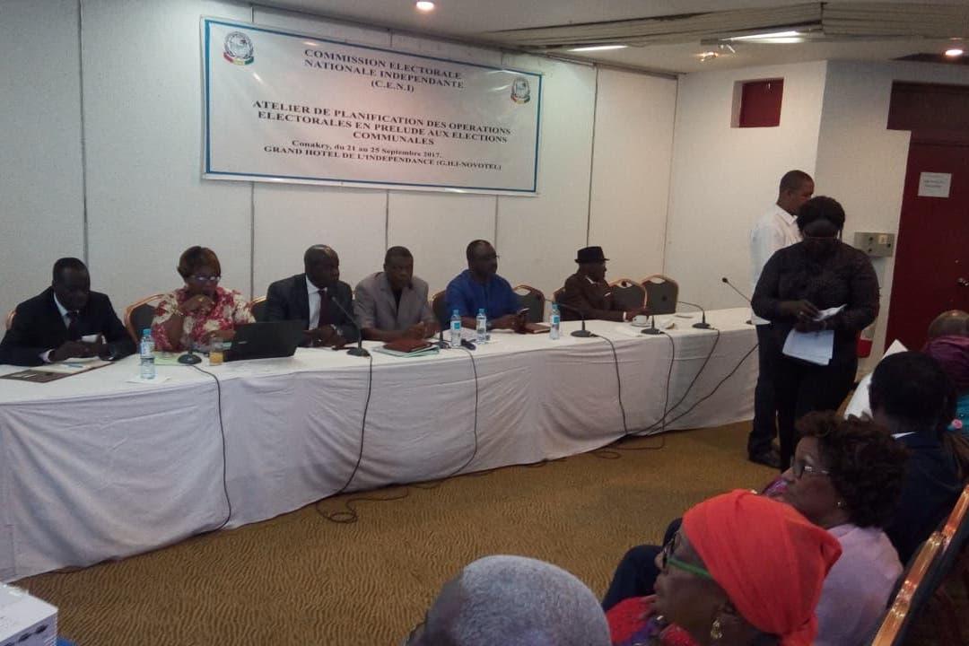 La CENI planifie les opérations électorales en vue des élections communales