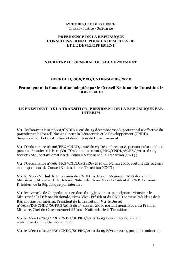 eu-undp-jtf-guinea-ressources-documents-paceg-constitutions-guinee-2010